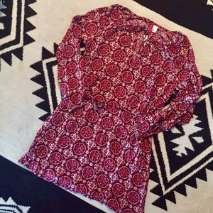 H&M Divided Long Sleeve Straight Dress NWT